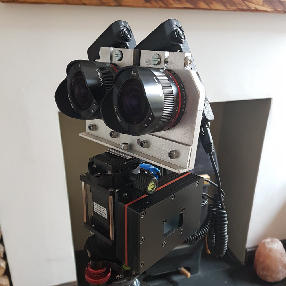 360-3D 14K HDR Stereo Rig